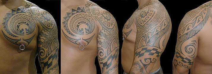 Primitive Black Tattoo Oahu Hawaii