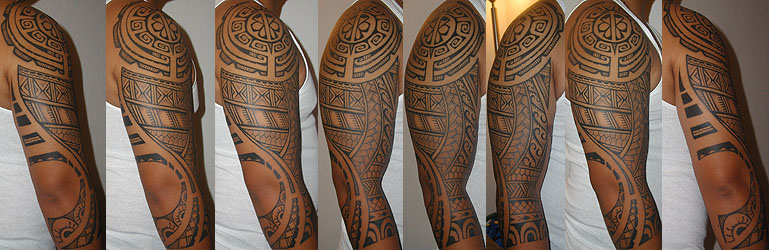 Patterns provided by the tribe. Tattooed by Aisea.